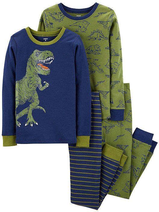 b7f3c8934 4-pc. Pajama Set Boys  pc Carter Pajama