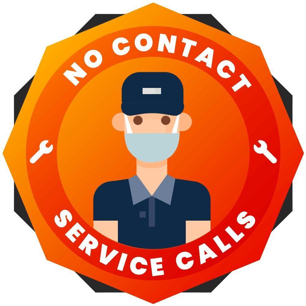 Pin On No Contact Service Calls