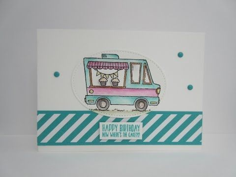 Stampin' Up! - Stampin' Sacha - Sale-A-Bration 2017 - Spring-Summer Catalogue 2017 - Tasty Trucks - Watercolor Pencils - Birthday - #stampin_sacha - #stampinup #birthday