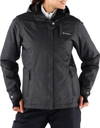 Columbia Alpine Alliance Interchange 3 In 1 Insulated Jacket Women S Rei Co Op Jackets For Women Jackets Short Black Jacket