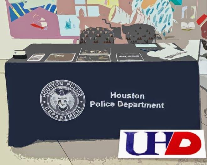 Houston Police Department at University of Houston Downtown on January 27, 2015