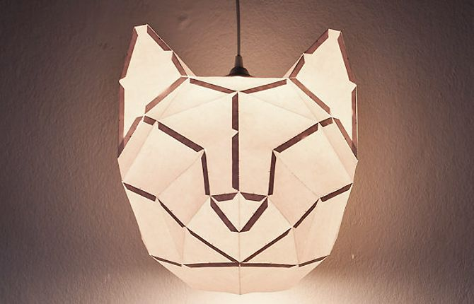 DIY paper lamp by donkey and friends