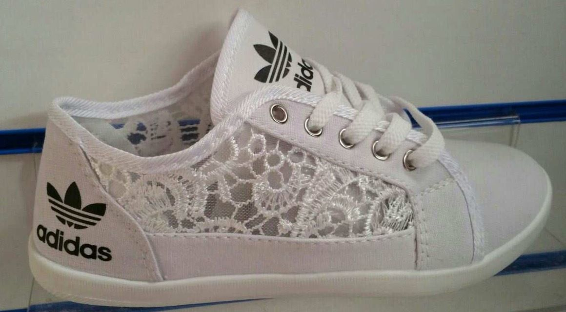 New ladies adidas lace pumps