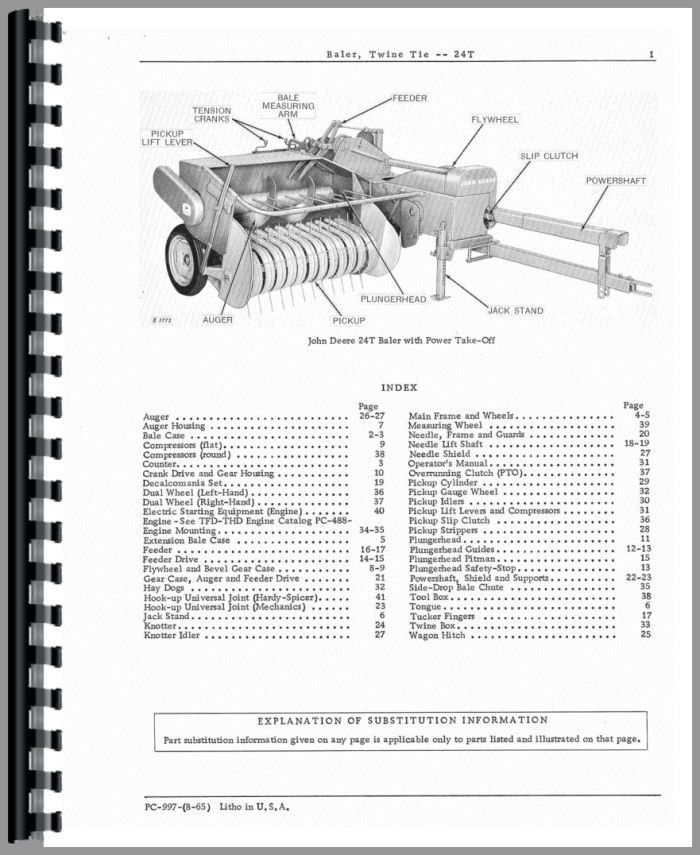 John Deere Baler Parts Diagram.Pin On Hay Baler