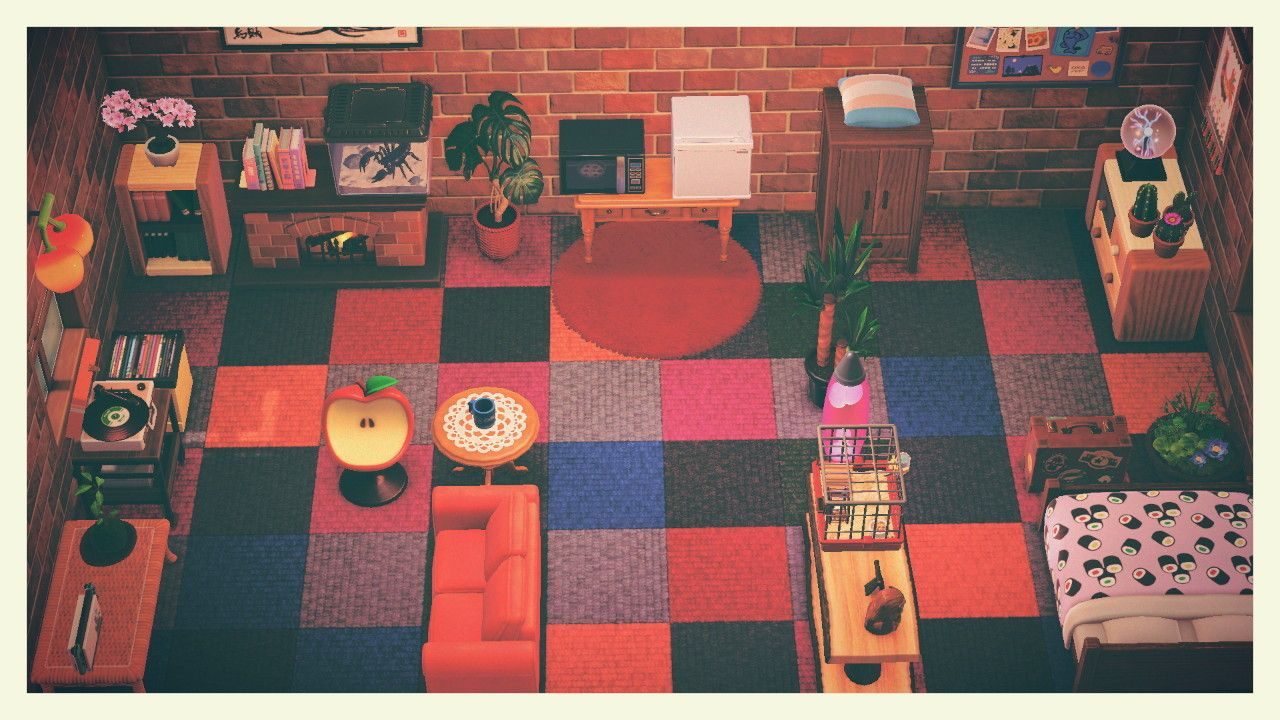 12+ Animal crossing villager house interior ideas in 2021