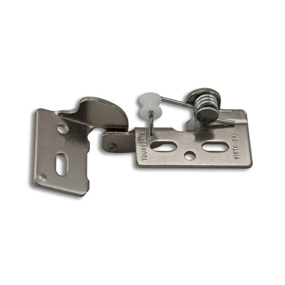 Youngdale Chrome 4 3 8 In Lip Inset Non Wrap Self Closing Hinge Self Closing Hinges European Hinges Inset Cabinets