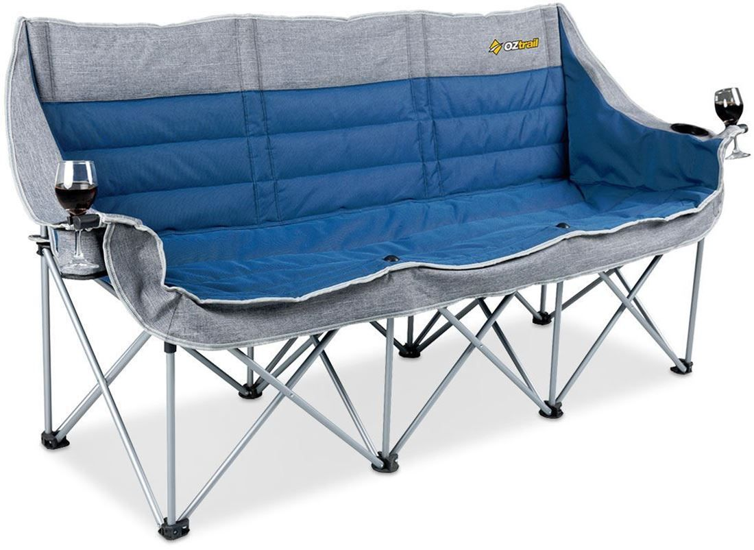 Galaxy 3 Seater Chair Camping chairs, Camp furniture, 2