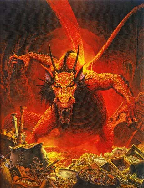 Quot The Great Red Dragon Quot Depicts Flame An Ancient Dragon
