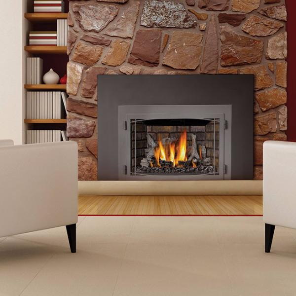 Napoleon Infrared Ir3 Direct Vent Gas Fireplace Insert With Logs