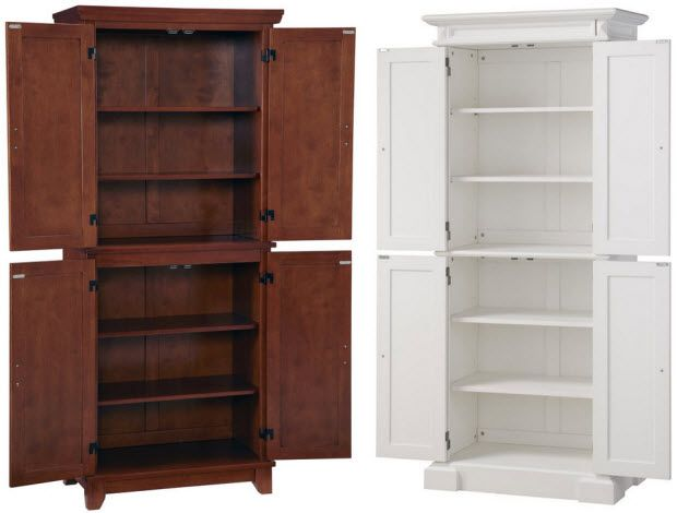 Furniture The Home Depot Pantry Cabinets You Ll Love Wayfair Stand Alone P Freestanding Kitchen Kitchen Pantry Cabinets Kitchen Pantry Cabinet Freestanding