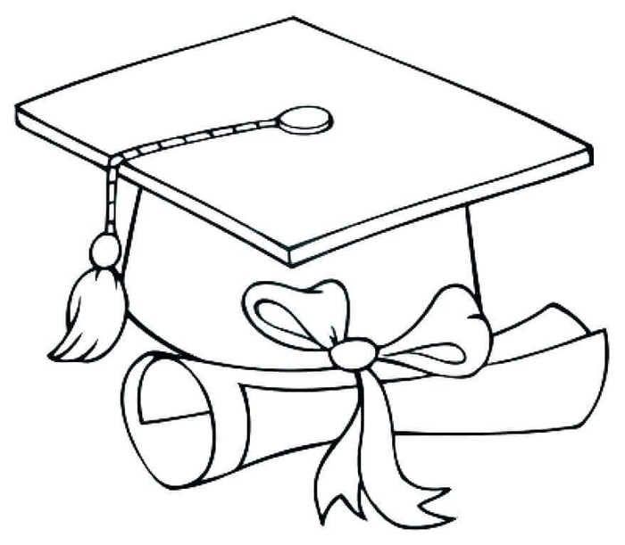 Free Kindergarten Graduation Coloring Pages | Kindergarten ...