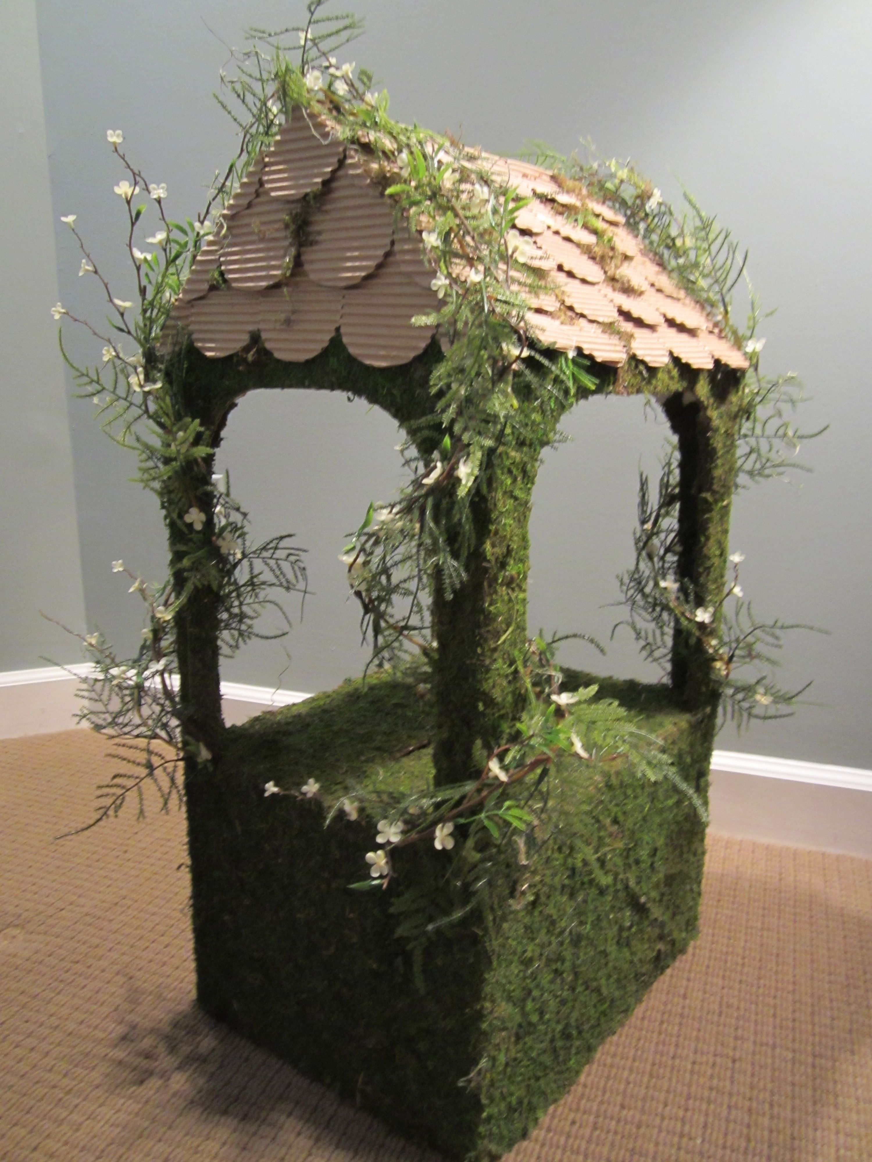 Wedding Wishing Well Precious You Could Make This Yourself Maybe Using Cardboard In 2019