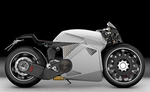 Fully Electric Concept Motorcycle By Italian Designer Paolo De Giusti Electrique Futuriste