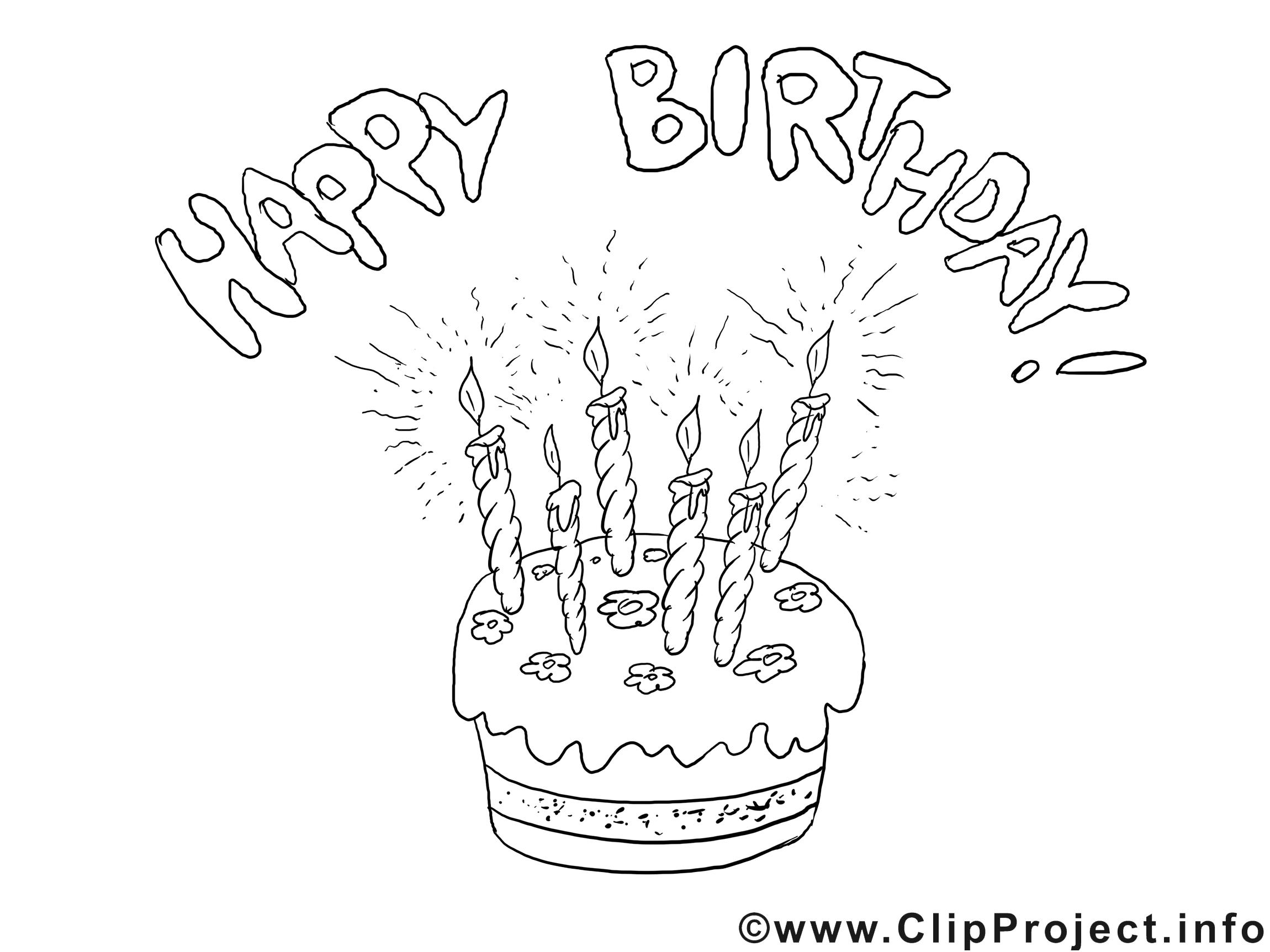 Ausmalbild Zum Geburtstag Geburtstag Malvorlagen Geburtstagskarten Gestalten Ausmalbilder
