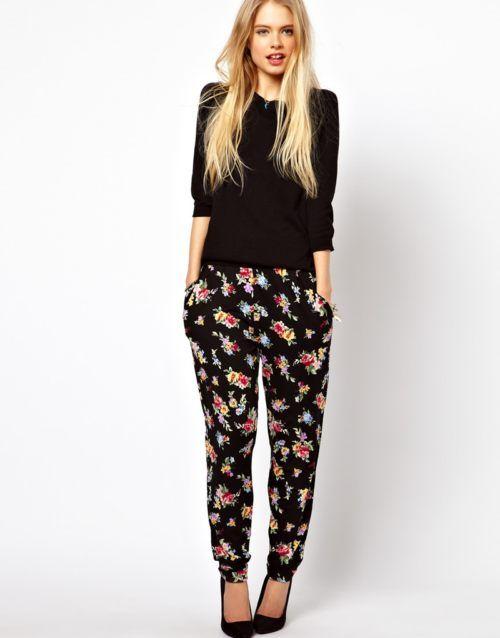 Como Llevar Pantalones Anchos Floral Pants Outfit Fashion Latest Fashion Clothes