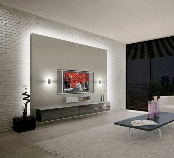 Home Lighting 25 Led Lighting Ideas Living Room Tv Wall Living Room Designs Tv Wall Design