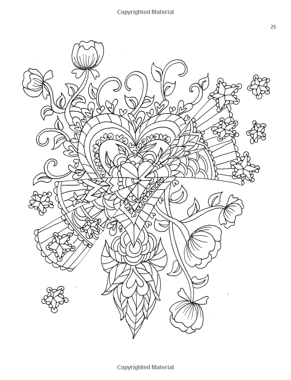 Amazon Com Color My Heart An Adult Coloring Book With