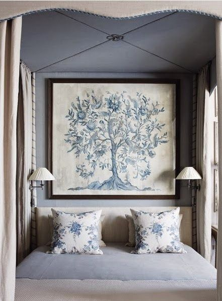 Gorgeous blue bedroom {The Relished Roost} Home Decor in 2018