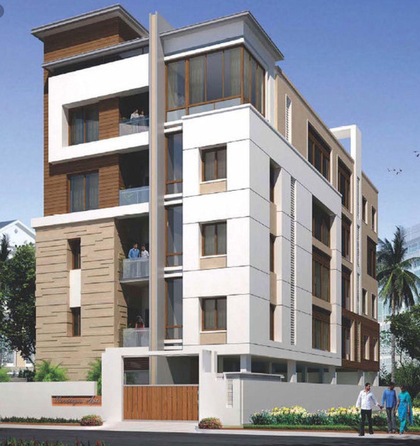 Multi Storey Building, Building Elevation