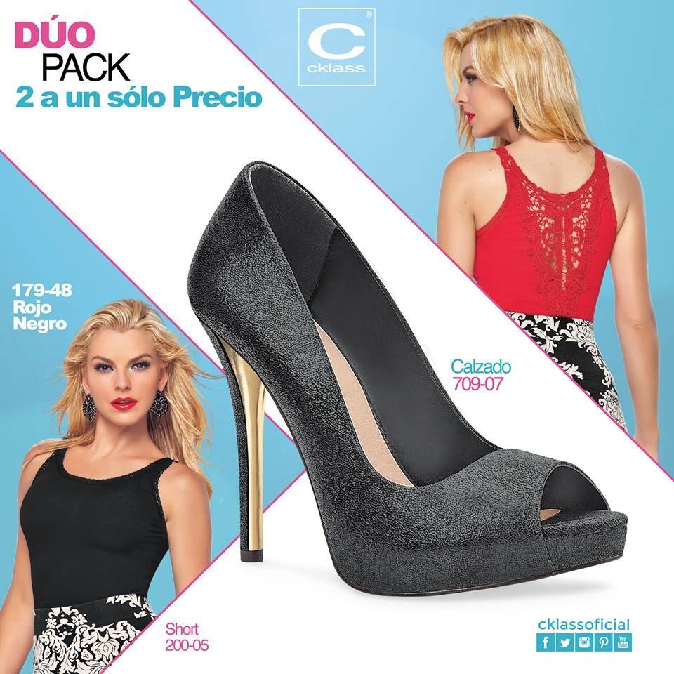 Los tacones negros siempre te sacarán de apuras, gracias a que combinan con todo. Conoce la gran variedad que #Cklass tiene para ti en www.cklass.com