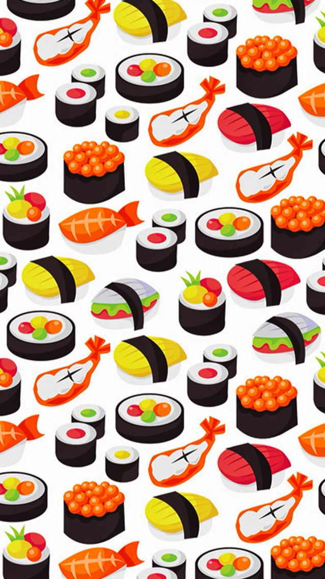 Sushi\u0027s wallpaper for iPhone.