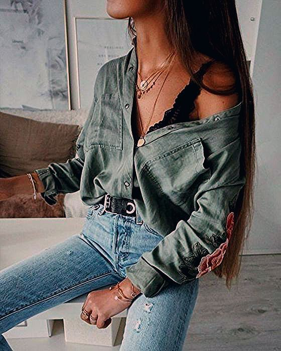20 Edgy Fall Street Style 2018 Outfits zum Nachmachen - Society19