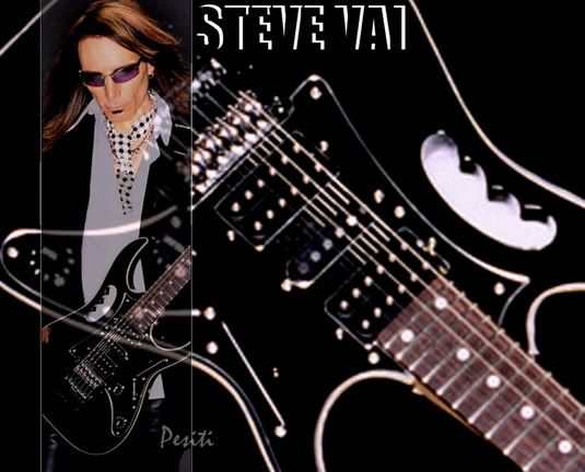 Steve Vai Wallpaper Beautiful Black Ibanez Steve Vai En 2019