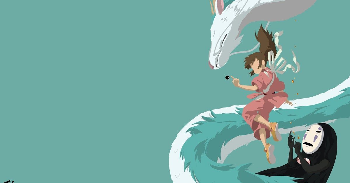 Anime Wallpapers Backgrounds Desktop In 2020 Desktop Wallpaper Art Minimalist Wallpaper Spirited Away Wallpaper