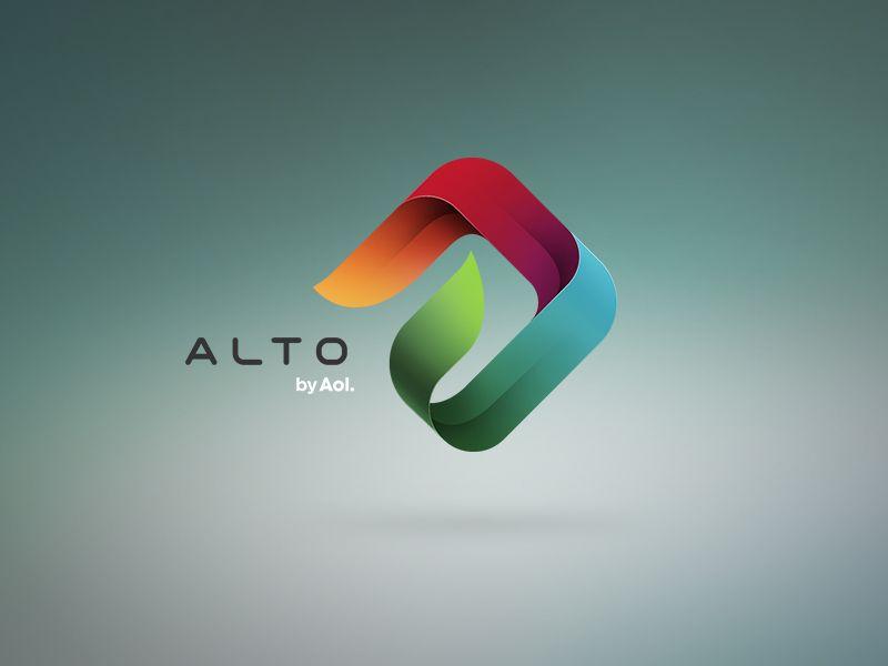 Alto By Aol Design Logo Pinterest Logos Inspiration And - Custom graphic for alto