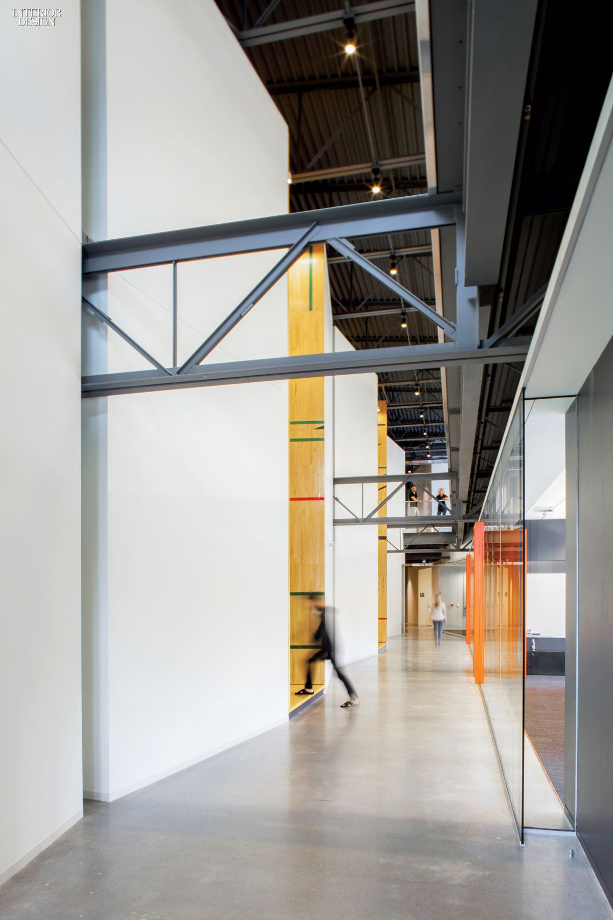 Gensler adapts former gym for tableau software offices for Gym design software
