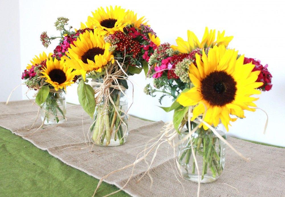 Rustic Flower Arrangements Mason Jar Wanted To Create An