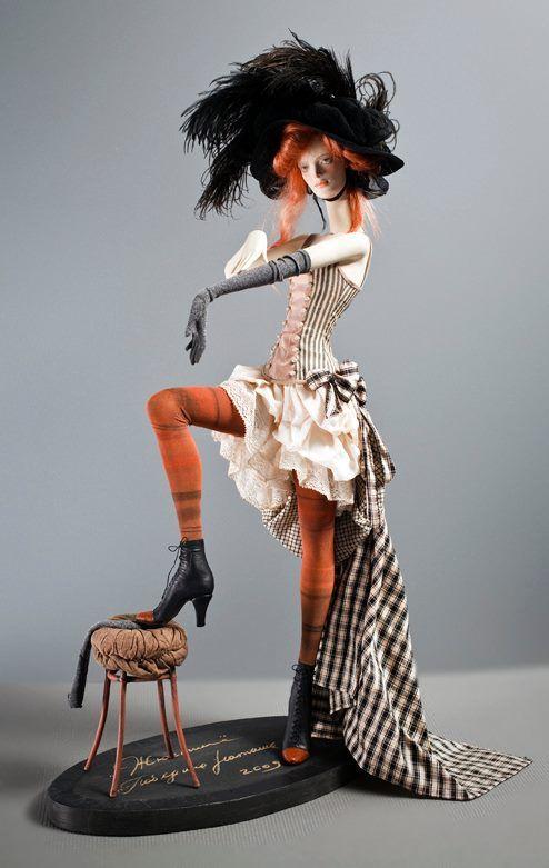 ART doll by famous Russian artist