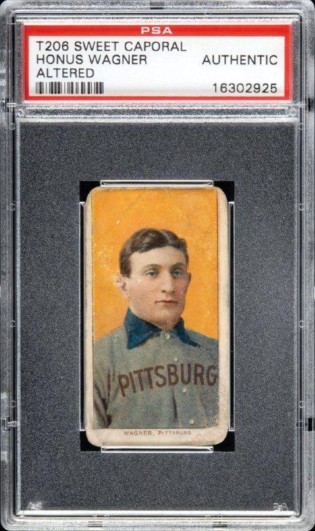 T206 Honus Wagner Baseball Card T206 Honus Wagner Baseball Cards