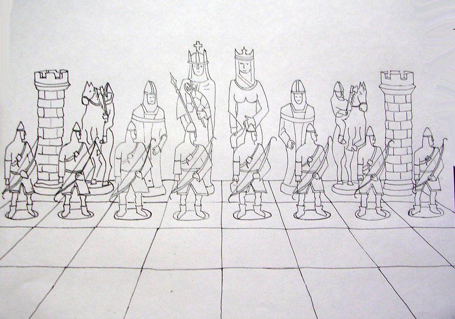 juego de reyes by charlieest.deviantart.com on @DeviantArt