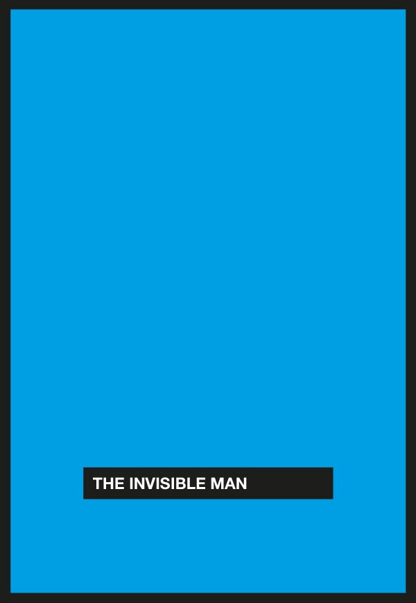 The Invisible Man [James Whale, 1933] «Cursor Movie Posters Author