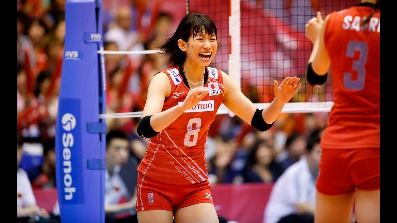 Sarina Koga Japan Vs China 2015 Fivb Wgp
