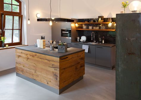 Photo of Kitchen: when country style meets modern | Kitchen house Thiemann from Overath …