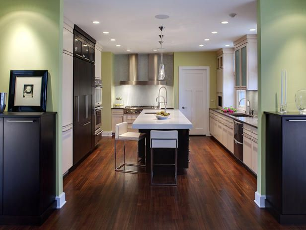 Drurytiledbacksplashkitchen2  House  Pinterest  Hgtv Entrancing 2 Wall Kitchen Designs Design Decoration