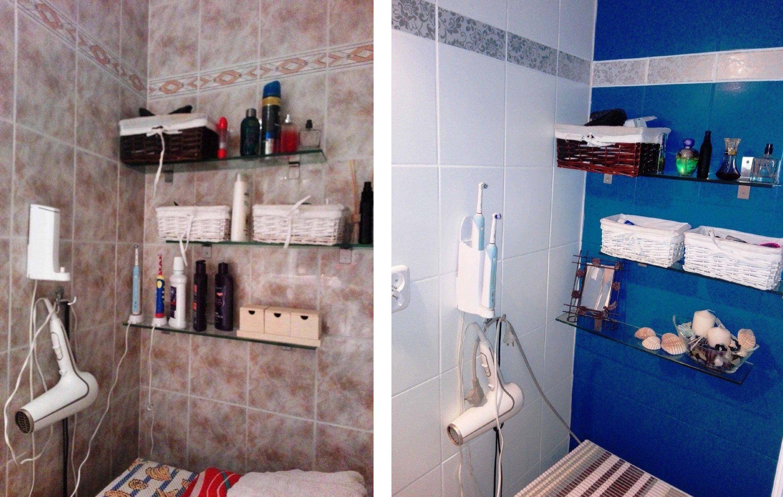 Malowanie Płytek Malowanie Glazury Metamorfoza łazienki