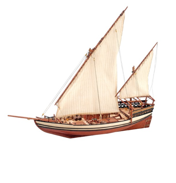 1 85 Sultan Arab Dhow Wooden Model Ship Kit Wooden