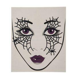 Tatouage De Visage Toile D 39 Araign E Pour Halloween Halloween Pinterest Araign Es