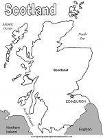 Scozia Da Colorare Disegni Da Colorare Scotland Girl Scotland