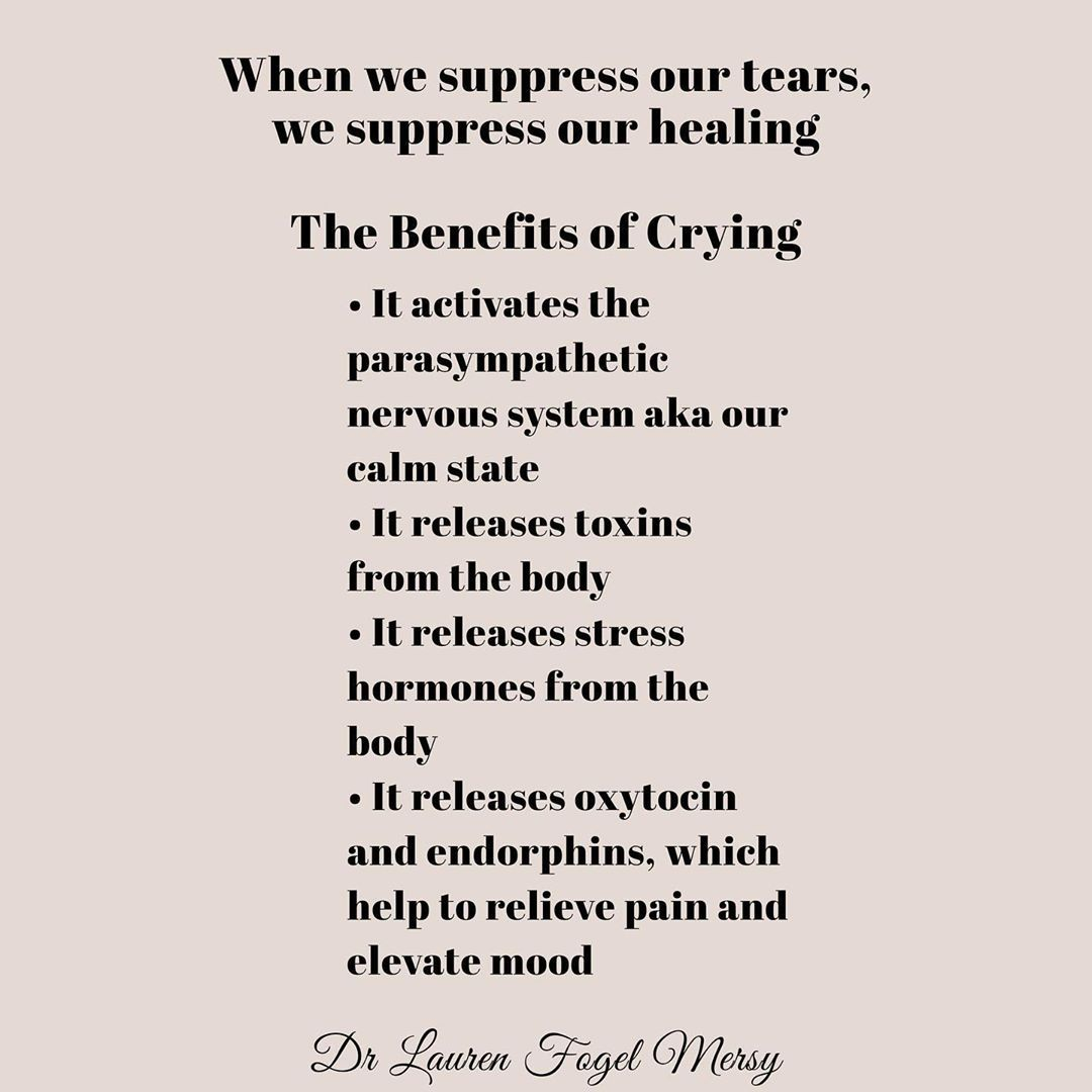 When We Suppress Our Tears We Suppress Our Healing The