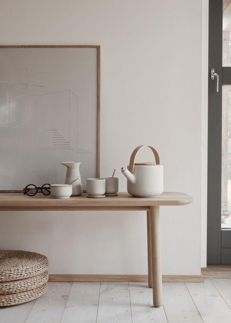 AW19 STELTON Theo Tea And Coffee Collection In New Colour - Hege in France #scandinavianinteriordesign
