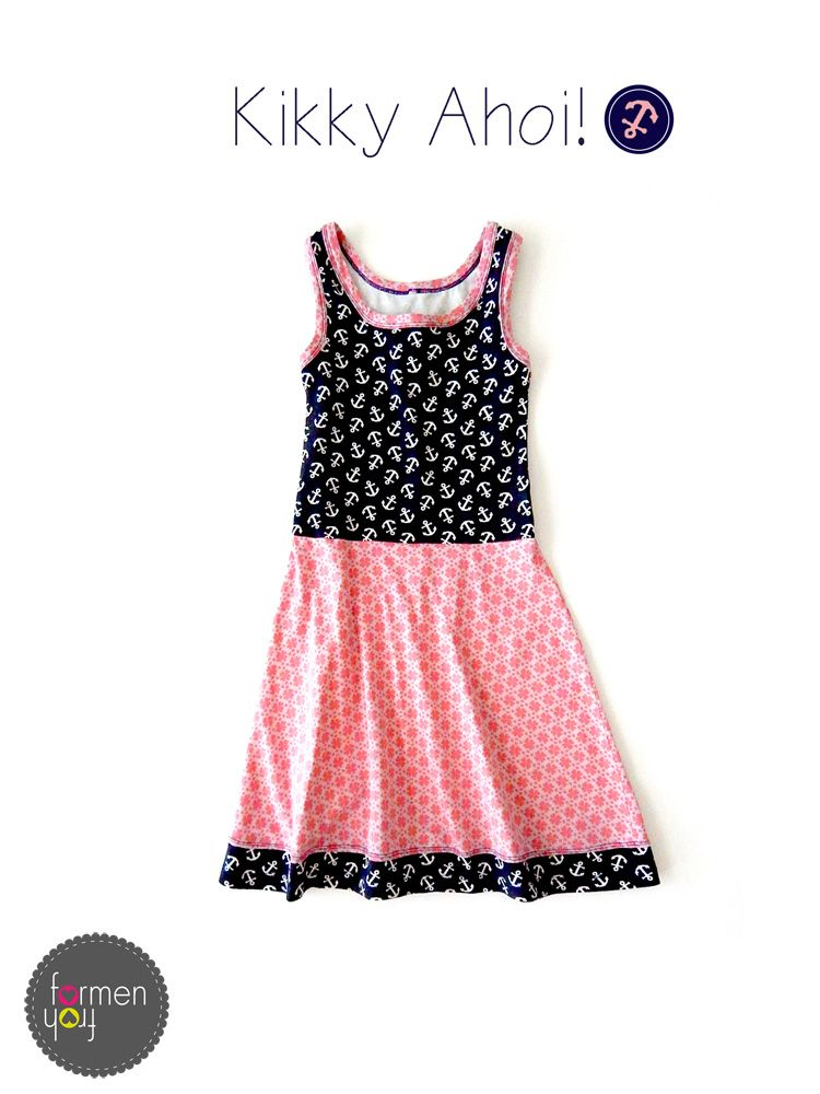 Sew - Nähen - kibadoo -kikky - dress - Kleid - Schnittmuster - pattern