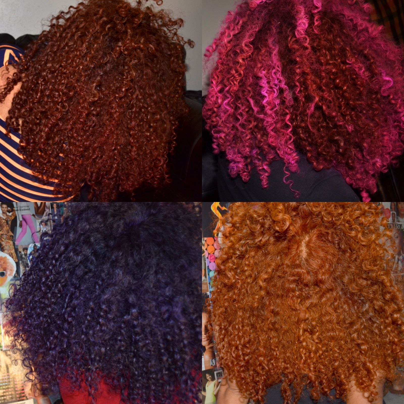How i color my hair without using bleach i rock my