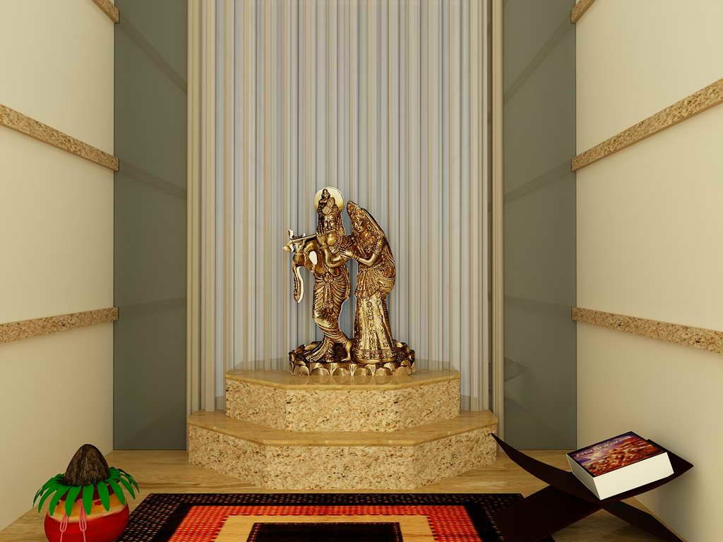 Pooja Room Interior Design Mandir In Home Pinterest