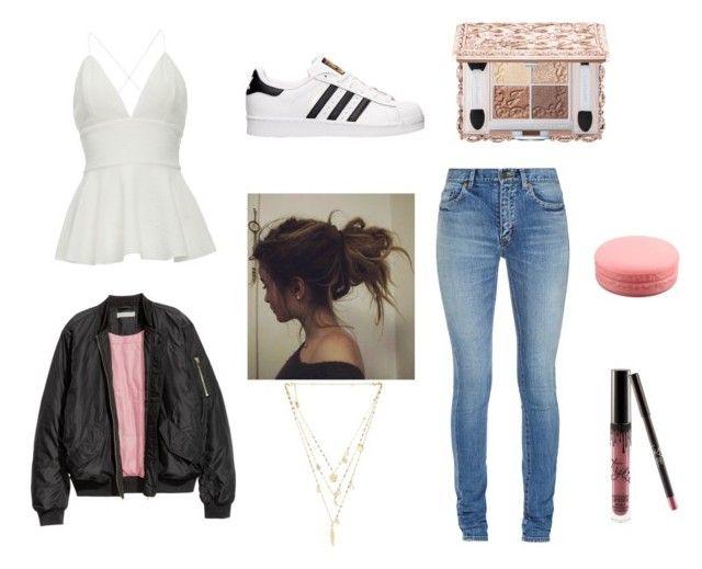 """❤️"" by beautychecks on Polyvore featuring mode, Yves Saint Laurent, adidas, Kylie Cosmetics en Ettika"