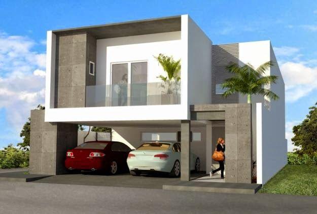 Im genes fachadas minimalistas 6 fachadas de casas for Casas minimalistas pequenas