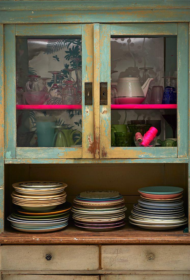 Küchenwagen im design neon touch  home uc  pinterest  neon kitchens and interiors